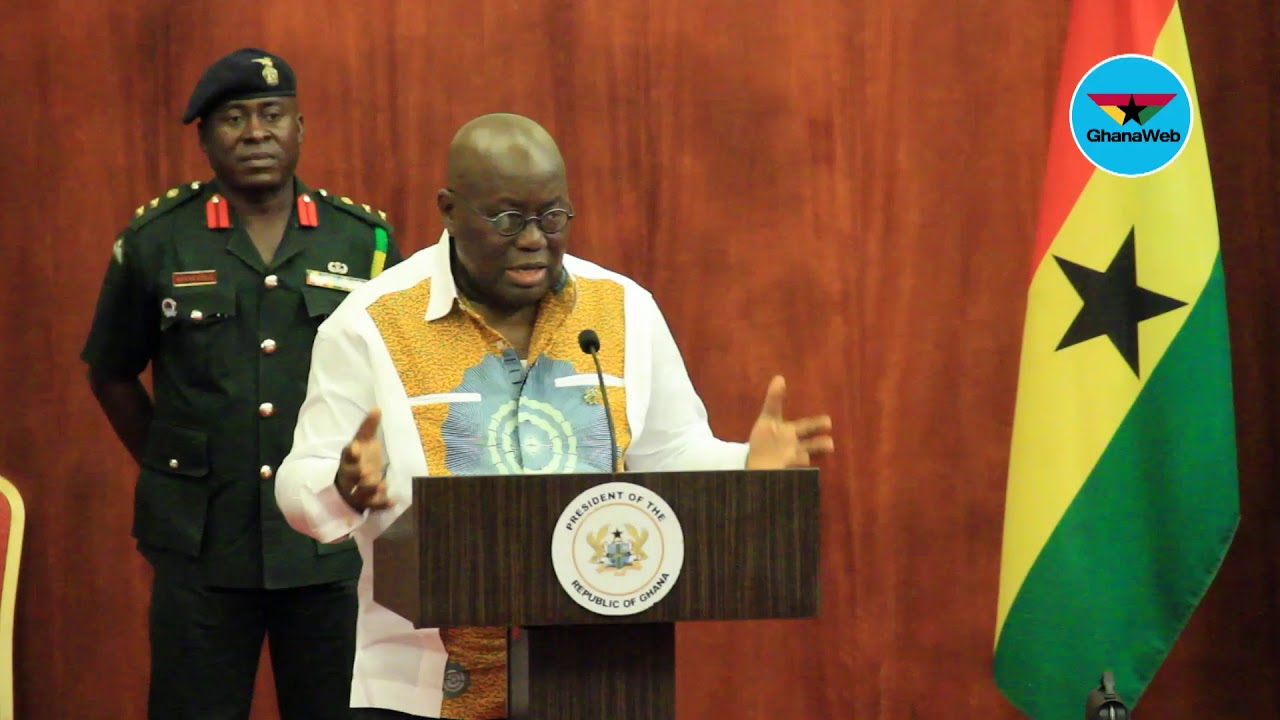 We'll decide on review of galamsey ban next week - Akufo-Addo