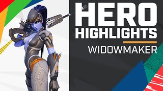 HEADSHOT (WHAT!) AFTER HEADSHOT AFTER HEADSHOT | Hero Highlights - Widowmaker