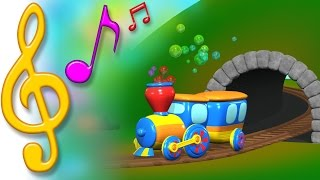 TuTiTu Songs | Train Song | Songs for Children with Lyrics