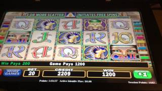 Cleopatra 2 hand pay line hit jackpot $20 high limit slot m