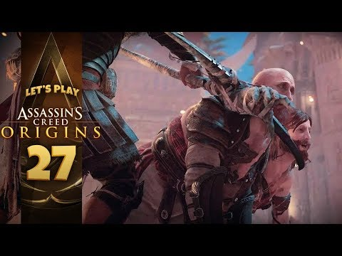 INTO THE ARENA   Assassin's Creed: Origins (Let's Play Part 27)
