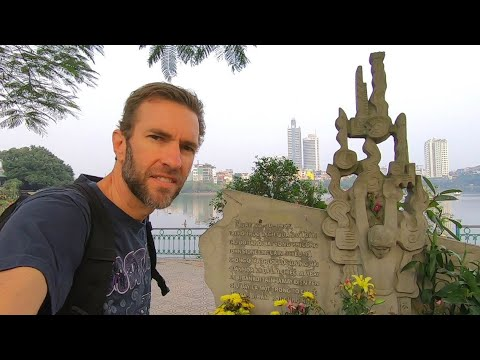 One Day in HANOI, VIETNAM | Visiting a War Memorial