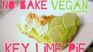 No-bake Vegan Key Lime Pie | Cheap Clean Eats