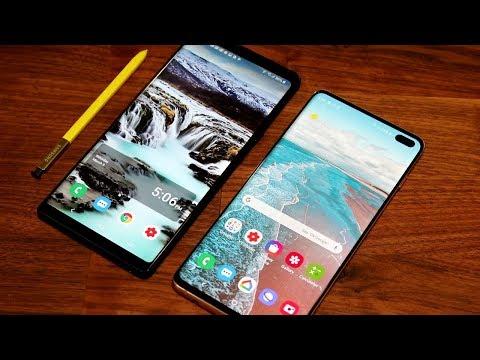 Samsung Galaxy Note 9 vs Samsung Galaxy S10 Plus - Full Comparison