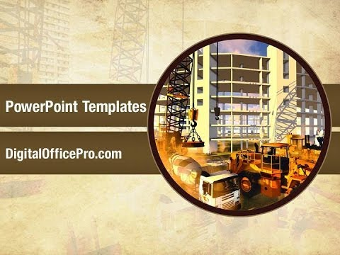 Building construction site powerpoint template backgrounds building construction site powerpoint template backgrounds digitalofficepro 00221 toneelgroepblik Choice Image