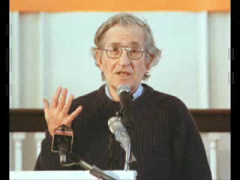 Noam Chomsky - Libertarian Socialism Contradicting terms