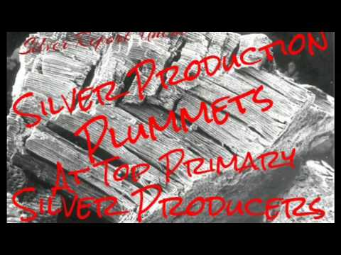 World Silver Defecit! Silver Production Plummets at Top Silver Producers