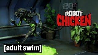 Alien Slapstick Comedy | Robot Chicken | Adult Swim