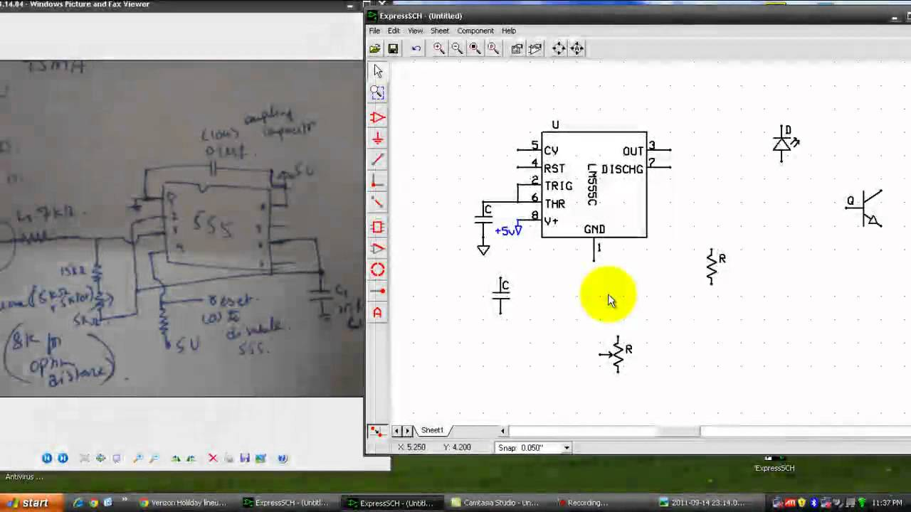 Express schematic tutorial - YouTube