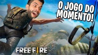 FREE FIRE! O JOGO QUE TODO MUNDO ESTÁ JOGANDO! Battle Royale