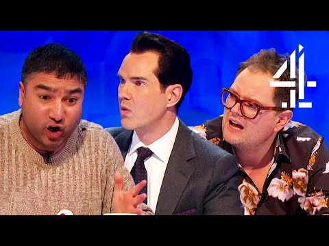 Jimmy Carr ASTONISHED by Nick Mohammed's Card Trick! | 8 Out of 10 Cats Does Countdown