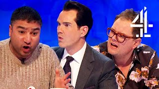 Jimmy Carr ASTONISHED by Nick Mohammed's Card Trick!   8 Out of 10 Cats Does Countdown