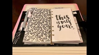 2018 Planner Setup: Part 1 & Giveaway CLOSED