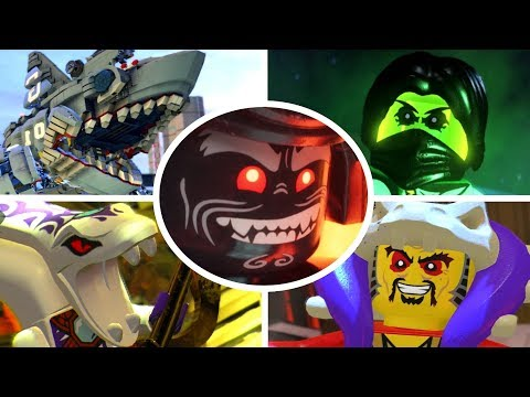 The LEGO Ninjago Movie Videogame - All Bosses