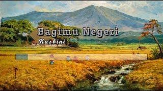 Gambar cover [Karaoke] 🎵 Kusbini - Bagimu Negeri (Padamu Negeri) 🎵 +Lirik Lagu [BRASS]