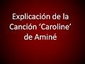 Explicación de la canción 'Caroline' de Aminé (explícito)