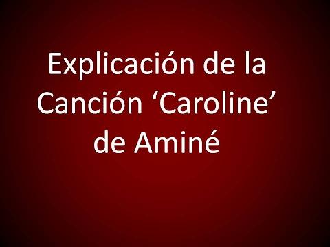 Explicación de la canción 'Caroline' de Aminé...