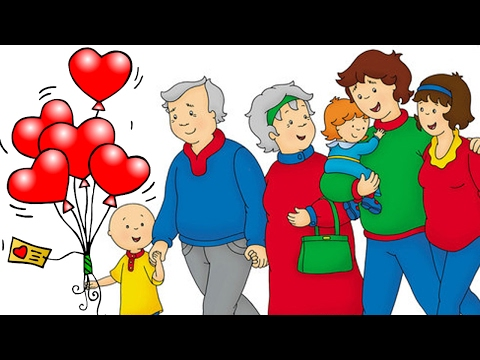 Caillou | Funny Valentines Cartoons | Cartoon Caillou | Happy Valentine's Day | Cartoons for kids