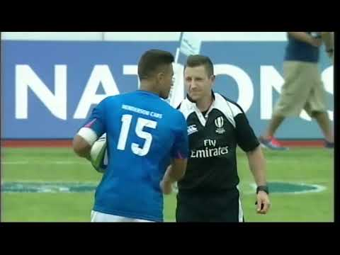 Samoa vs Fiji Rugby 2017 Pacific Nations Cup
