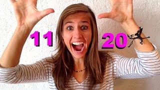 GERMAN LESSON 57: Quickly Repeat the German Numbers from 11 to 20