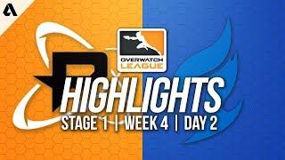 Philadelphia Fusion vs Dallas Fuel | Overwatch League Highlights OWL Week 4 Day 2