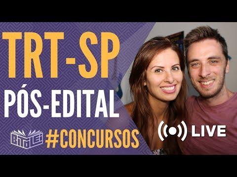 Concurso TRT SP 2018 - Análise do edital e perfil de prova FCC