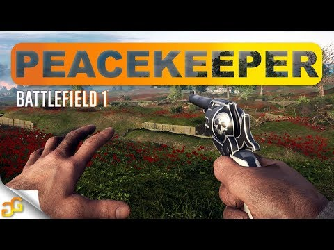 BF1 PEACEKEEPER Gameplay! Secret Tunnel Easter Egg - Battlefield 1 How to Unlock the peacekeeper