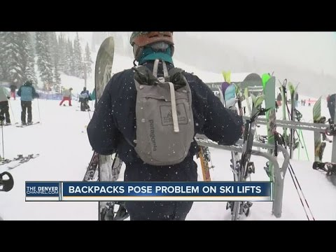 Backpacks pose problem