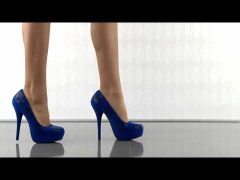 Iron Fist Sugar Hiccup Platform in Cobalt Blue