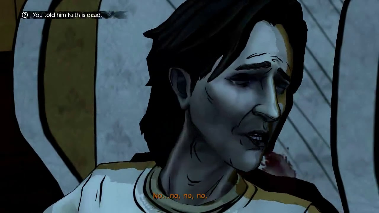 The Wolf Among Us Episode 1  Faith, Chapter 4  Choices, Lawrence
