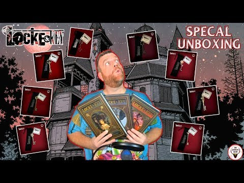 """""""Locke & Key"""" SPECIAL Unboxing - The Horror Show"""