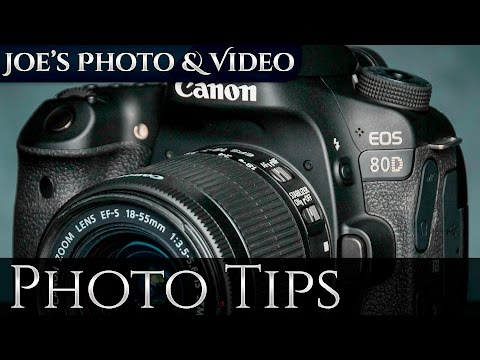 Canon EOS 80D: How To Erase Images & Format Your Memory Card - Photography Tips
