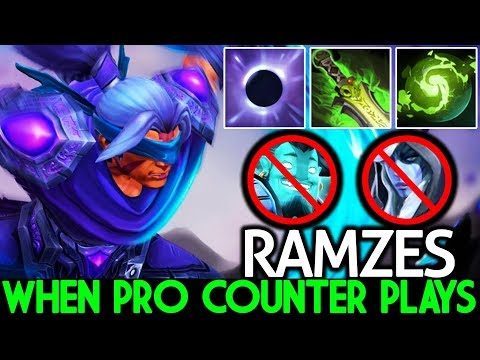 Ramzes [Anti Mage] When Pro Counter Plays Cancer Build 7.21 Dota 2