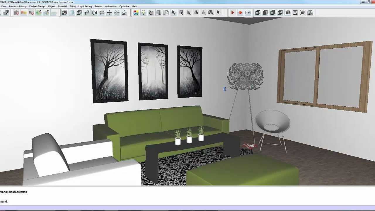 intericad t5 how to update a room created in 2d design using modeling design - 2d Room Design