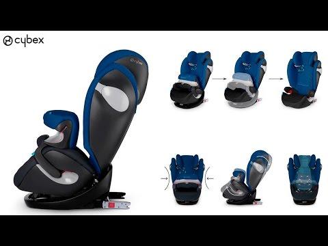 Pallas m fix installation video doovi for Mejor silla coche bebe grupo 1 2 3