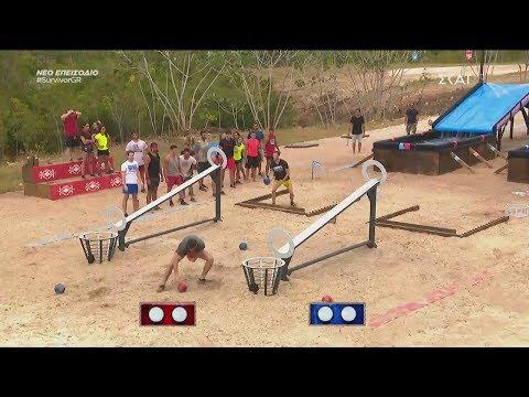 Survivor 2019 | Παναγιώτης, Αφροδίτη vs Yusuf, Sude | 06/02/2019