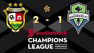 Santa Tecla FC vs Seattle Sounders FC full match