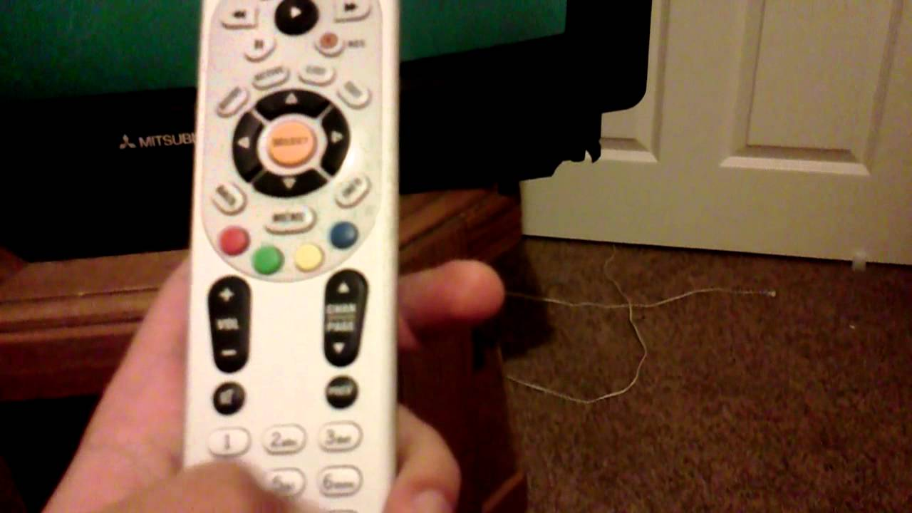 How To Program Your Directv Remote Control Youtube