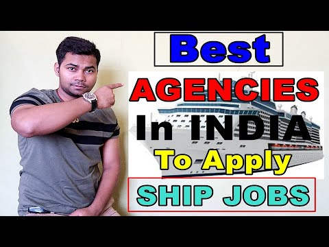 Best Agencies In India To Apply Jobs For Ship
