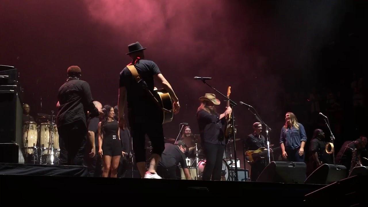 Justin timberlake and chris stapleton pilgrimage music for Tennessee whiskey justin timberlake