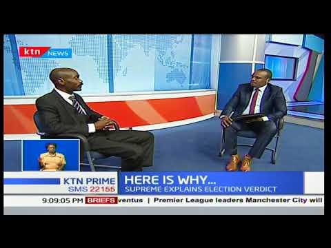 Supreme Court explains why it upheld the election of President Uhuru