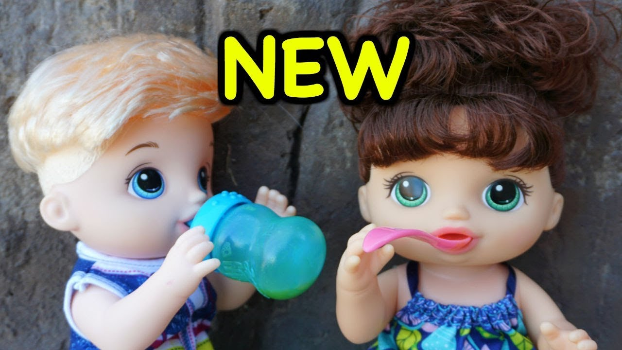 Baby Alive New Boy Baby Alive Sweet Spoonfuls Baby Youtube