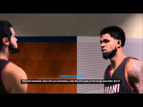 NBA 2K15 - Udonis Haslem wants his touches