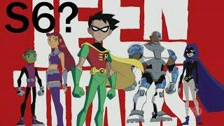 Teen Titans Season 6 Announcement Update 2015