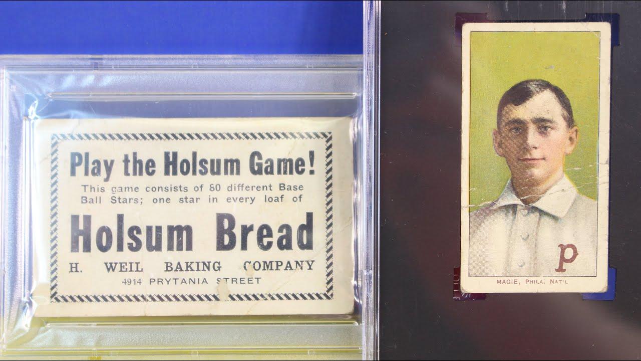 Baseball Card Collection Psa Joe Jackson Holsum Bread T206 Magie Error And Babe Ruth