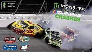2017 NASCAR Cup Crashes (Daytona- Indianapolis) thumbnail