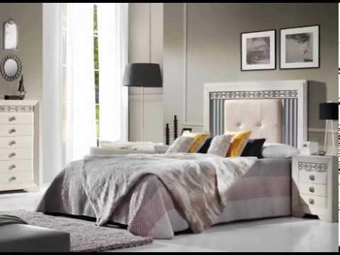 cabeceros de cama actuales acolchados y de madera