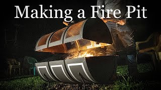 Making a Fire Pit from a 55 Gallon Oil Drum