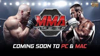 MMA Team Manager Gameplay trailer - Action Games For PC - Game 3D
