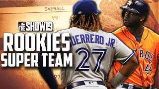 MLB ROOKIES SUPER TEAM!! | MLB the Show 19